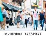 london  uk   august 24  2016 ...   Shutterstock . vector #617734616