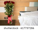 Stock photo bouquet of roses 617737286