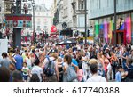 london  uk   august 24  2016 ... | Shutterstock . vector #617740388