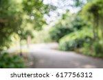 abstract blur city park bokeh... | Shutterstock . vector #617756312