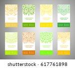 flyer  flyer  cover  pattern...   Shutterstock .eps vector #617761898