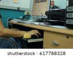 office business  paper work  | Shutterstock . vector #617788328