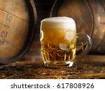 beer | Shutterstock . vector #617808926