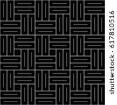 parquet pattern. basket weave... | Shutterstock .eps vector #617810516