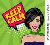 beautiful sexy girl cool...   Shutterstock .eps vector #617871416