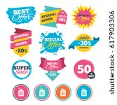 sale banners  online web... | Shutterstock .eps vector #617903306