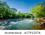 guadalupe river new braunfels ... | Shutterstock . vector #617912576