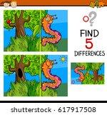 cartoon illustration of finding ... | Shutterstock . vector #617917508