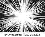 background of radial lines for... | Shutterstock .eps vector #617935316