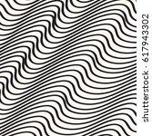 wave pattern vector design... | Shutterstock .eps vector #617943302