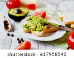 healthy  wholesome and healthy... | Shutterstock . vector #617958542