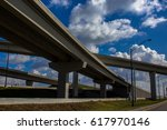 Highway On Ramp  Overpass In A...