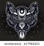 hand drawn beautiful artwork of ... | Shutterstock .eps vector #617983322