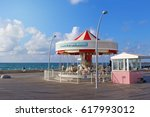 tel aviv  israel   april 02 ... | Shutterstock . vector #617993012