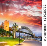 Beautiful View Sydney Harbour Bridge - Fine Art prints