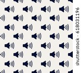 sound. repeating pattern of... | Shutterstock .eps vector #618031196