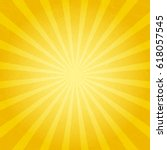 backgrounds ray or abstract sun ... | Shutterstock .eps vector #618057545