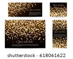 set of banners of different... | Shutterstock .eps vector #618061622