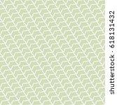 vector seamless geometric grid... | Shutterstock .eps vector #618131432