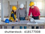 group of engineer checking the...   Shutterstock . vector #618177008