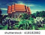phang nga  thailand   february... | Shutterstock . vector #618182882