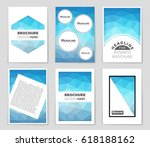 abstract vector layout... | Shutterstock .eps vector #618188162