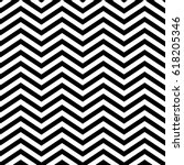 zigzag lines. jagged stripes.... | Shutterstock .eps vector #618205346