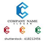 c letter | Shutterstock .eps vector #618212456