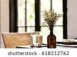 restaurant and coffee shop... | Shutterstock . vector #618212762