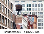 new york city historic... | Shutterstock . vector #618220436