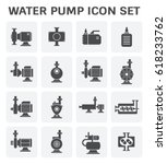 vector icon of electric water... | Shutterstock .eps vector #618233762