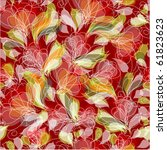 seamless floral pattern. vector | Shutterstock .eps vector #61823623