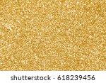 elegant gold glitter sparkle... | Shutterstock . vector #618239456