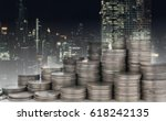 finance background property... | Shutterstock . vector #618242135