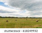 view of green hills and valleys ... | Shutterstock . vector #618249932
