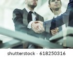 concept of partnership  ... | Shutterstock . vector #618250316