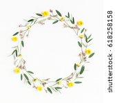 Flowers Composition. Wreath...