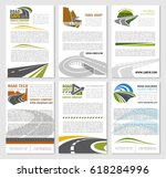 travel company or road trip... | Shutterstock .eps vector #618284996