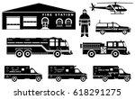 Fireman Concept. Detailed...