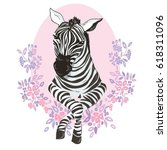 Zebra Animal  Vector ...