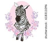 Zebra Animal  Vector ...