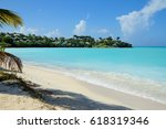 The Caribbean. The Beach Of Th...