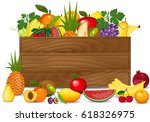 healthy freshly harvested... | Shutterstock .eps vector #618326975