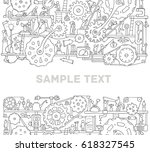 machinery template with space... | Shutterstock .eps vector #618327545