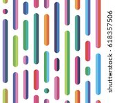 seamless pattern color sticks...   Shutterstock .eps vector #618357506