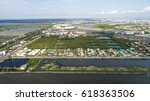thailand samutsa khon aerial... | Shutterstock . vector #618363506