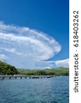 Small photo of Cloud like UFO , blowup
