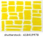 marker scribbles vector. big...   Shutterstock .eps vector #618419978