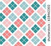 seamless plaid pattern good for ... | Shutterstock .eps vector #618462302
