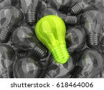 many lamps and lamp unique idea.... | Shutterstock . vector #618464006